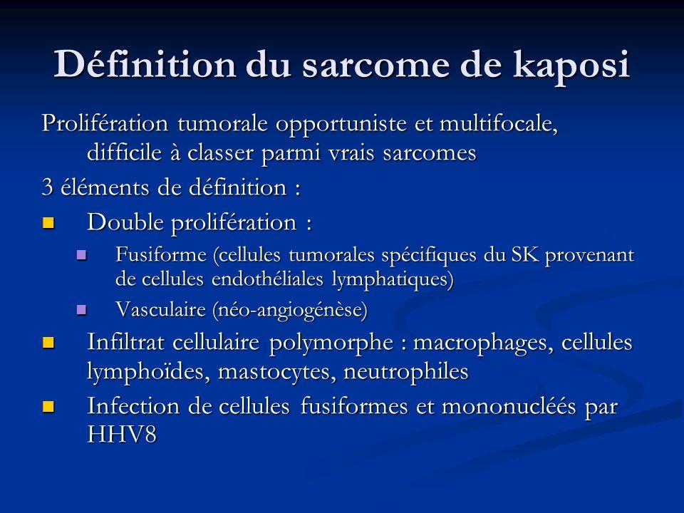 Définition du sarcome de kaposi