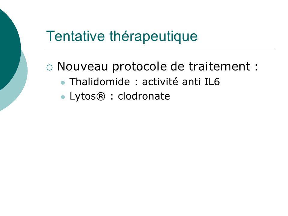 Tentative thérapeutique