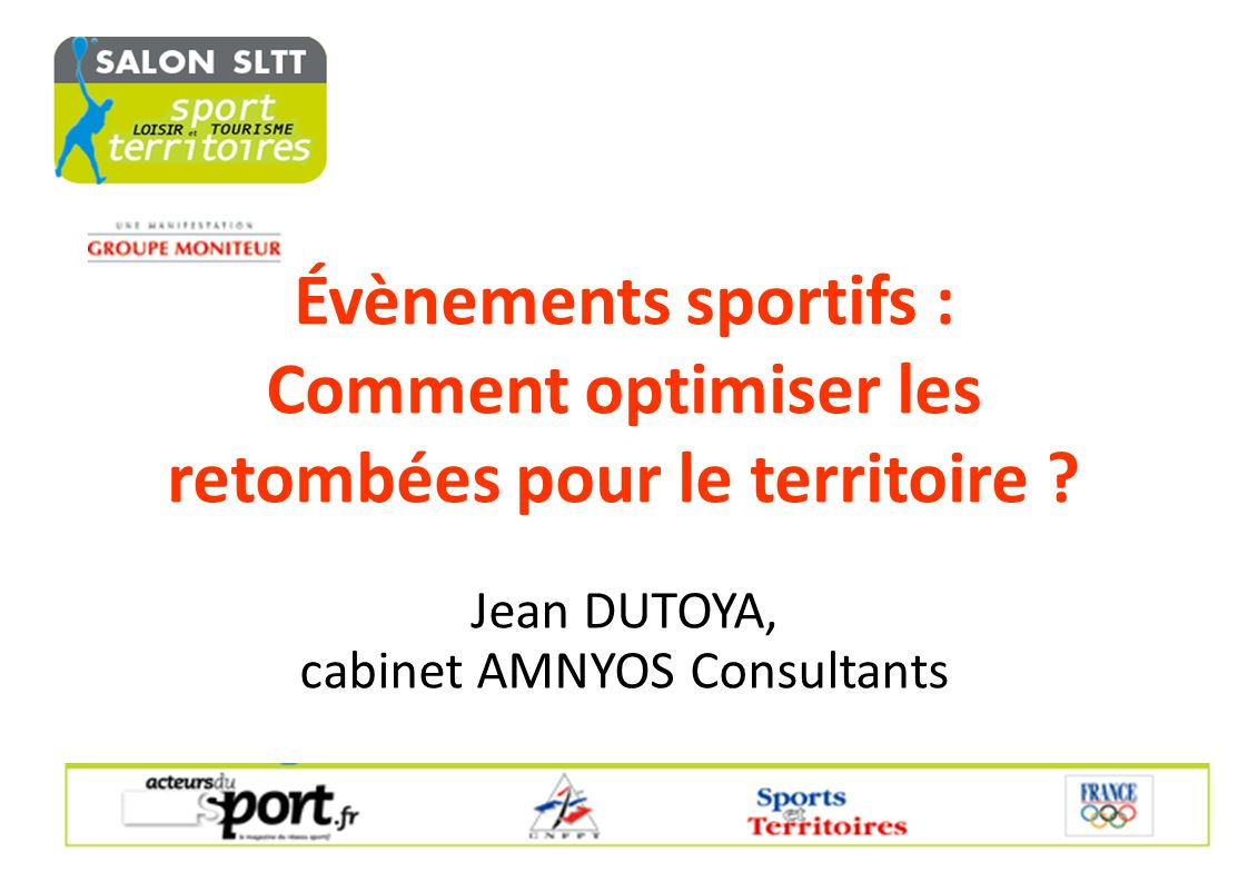 Jean DUTOYA, cabinet AMNYOS Consultants