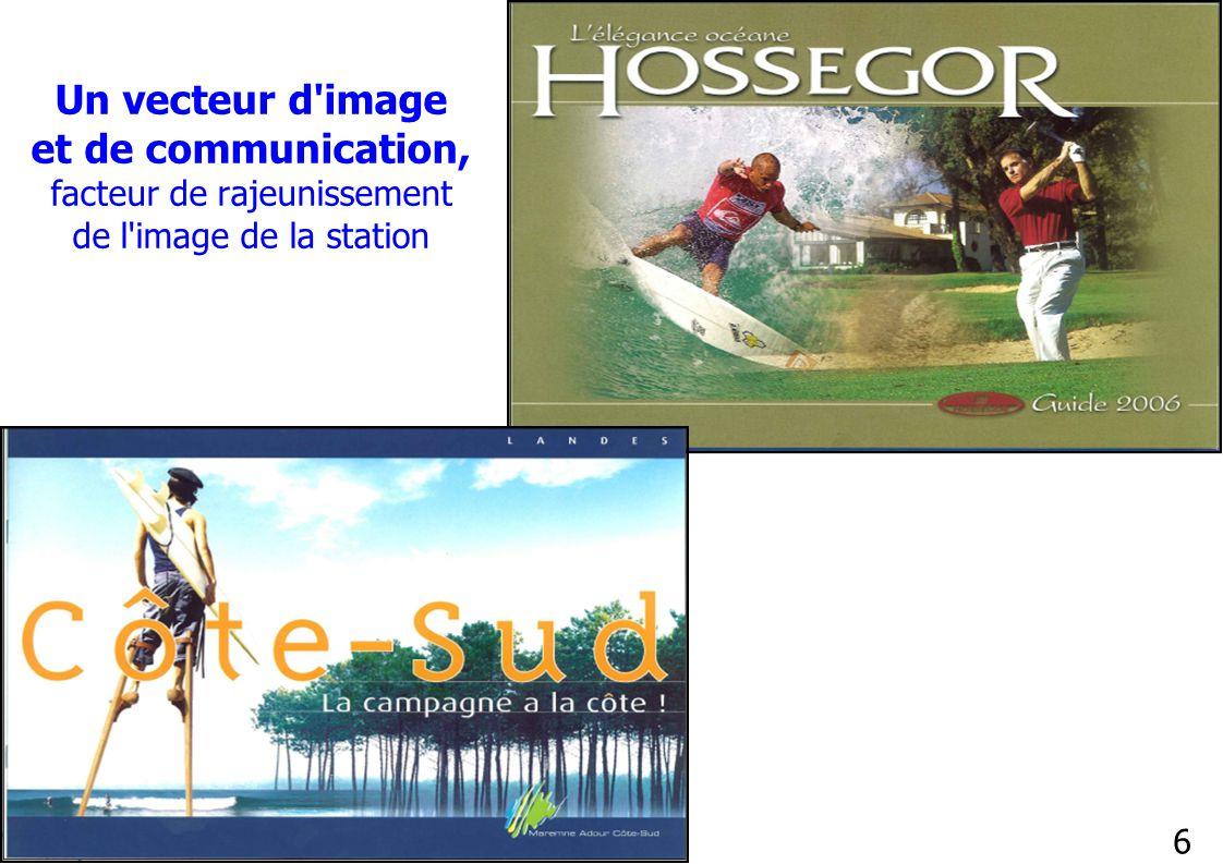 Un vecteur d image et de communication, facteur de rajeunissement de l image de la station
