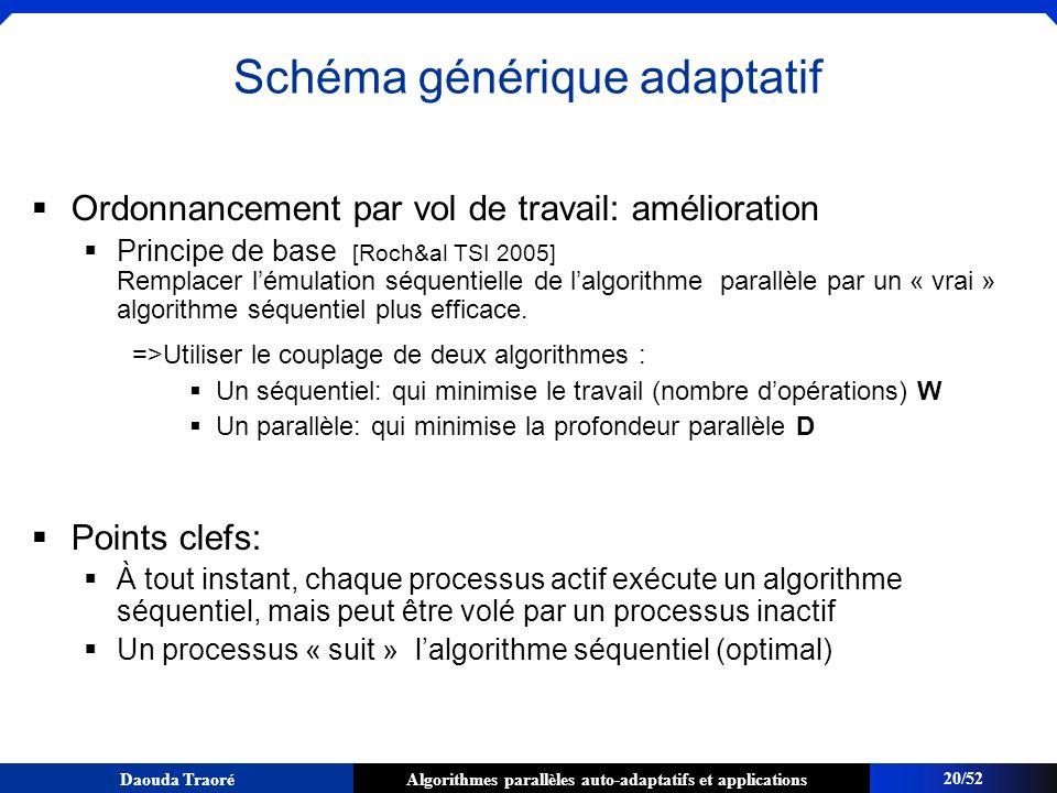 Schéma générique adaptatif