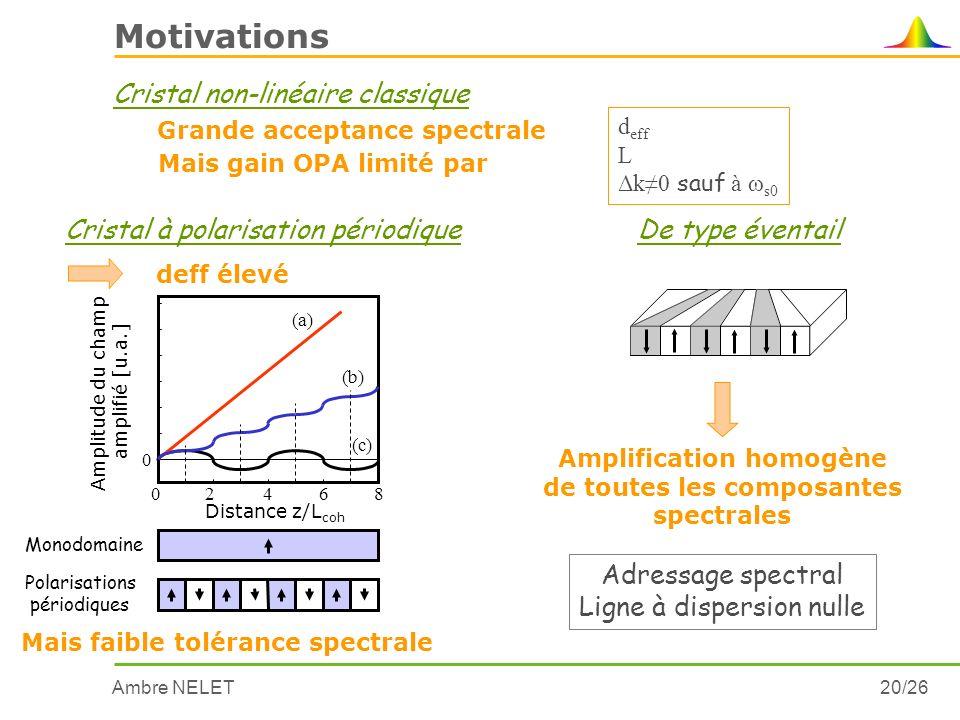 Amplification homogène de toutes les composantes