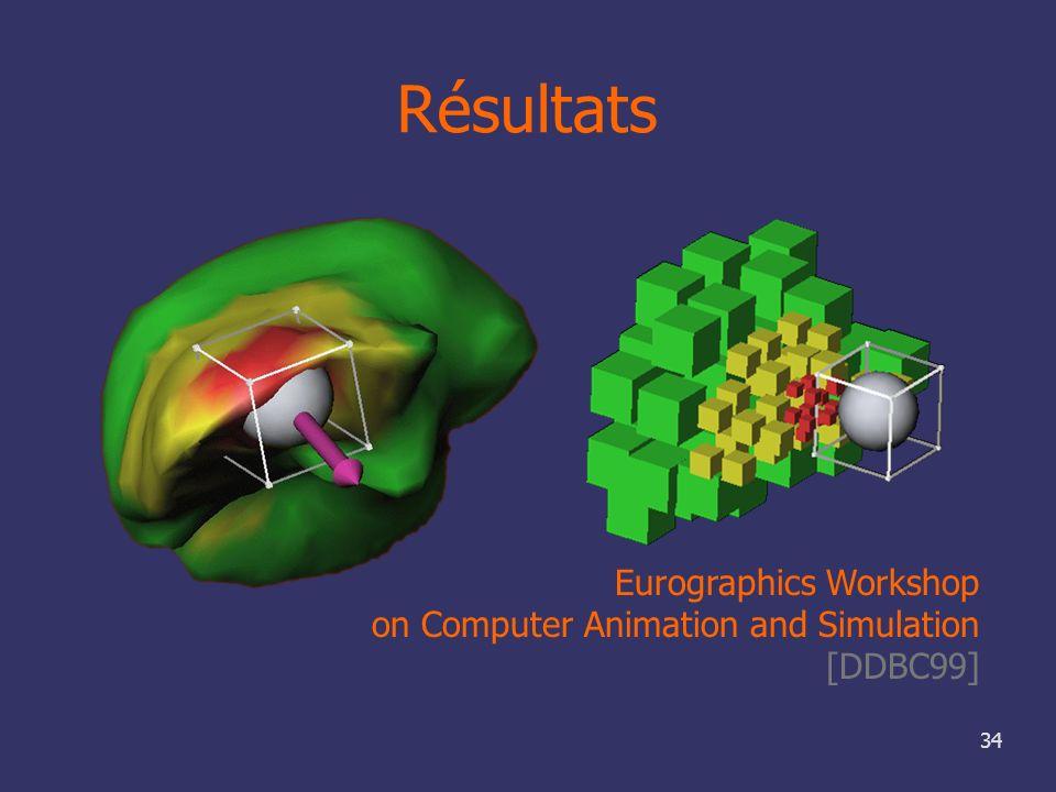 Résultats Eurographics Workshop on Computer Animation and Simulation