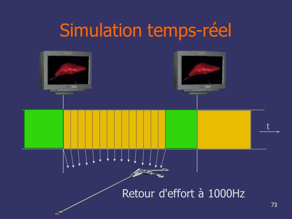 Simulation temps-réel
