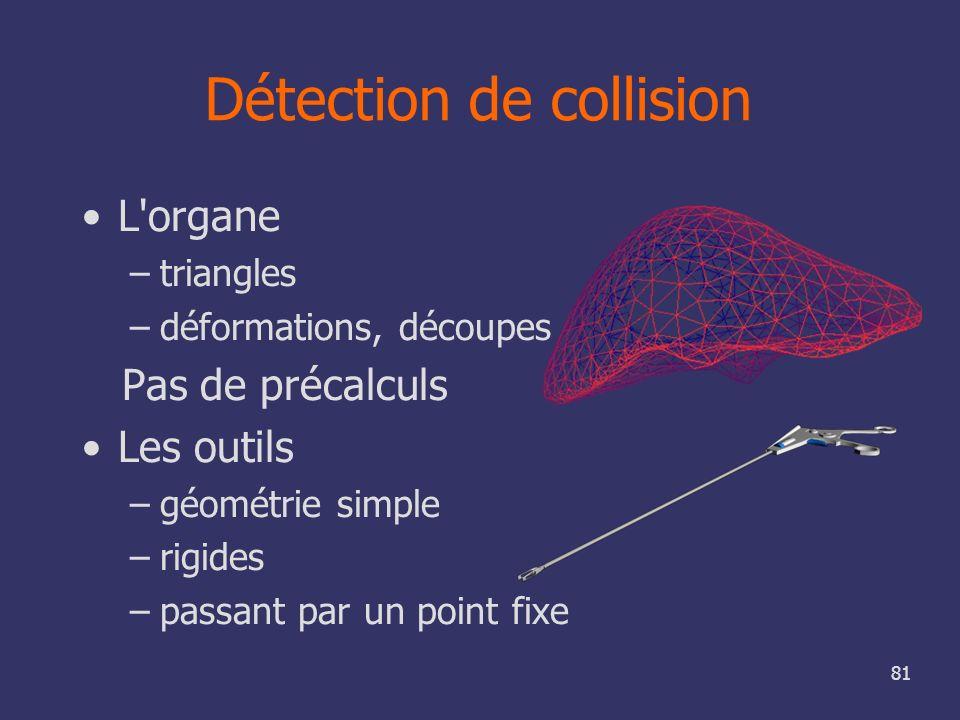 Détection de collision
