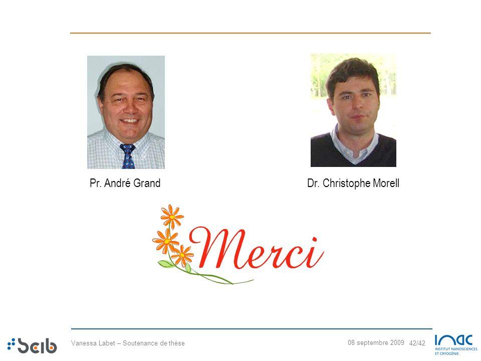 Pr. André Grand Dr. Christophe Morell 08 septembre 2009