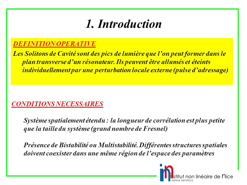 1. Introduction DEFINITION OPERATIVE