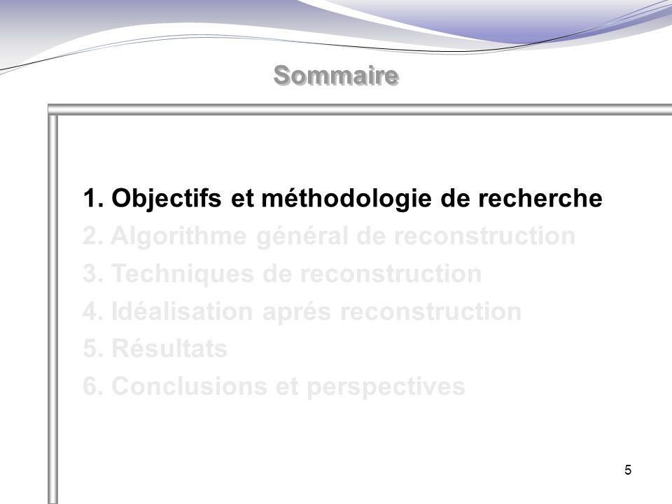 1. Objectifs et méthodologie de recherche