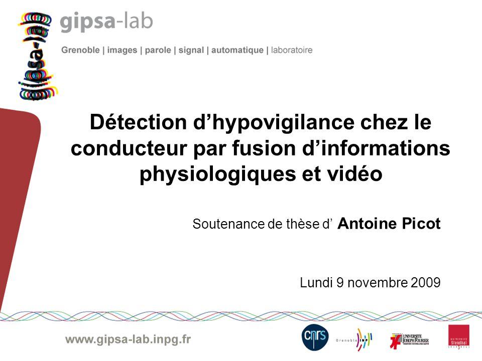 Soutenance de thèse d' Antoine Picot Lundi 9 novembre 2009