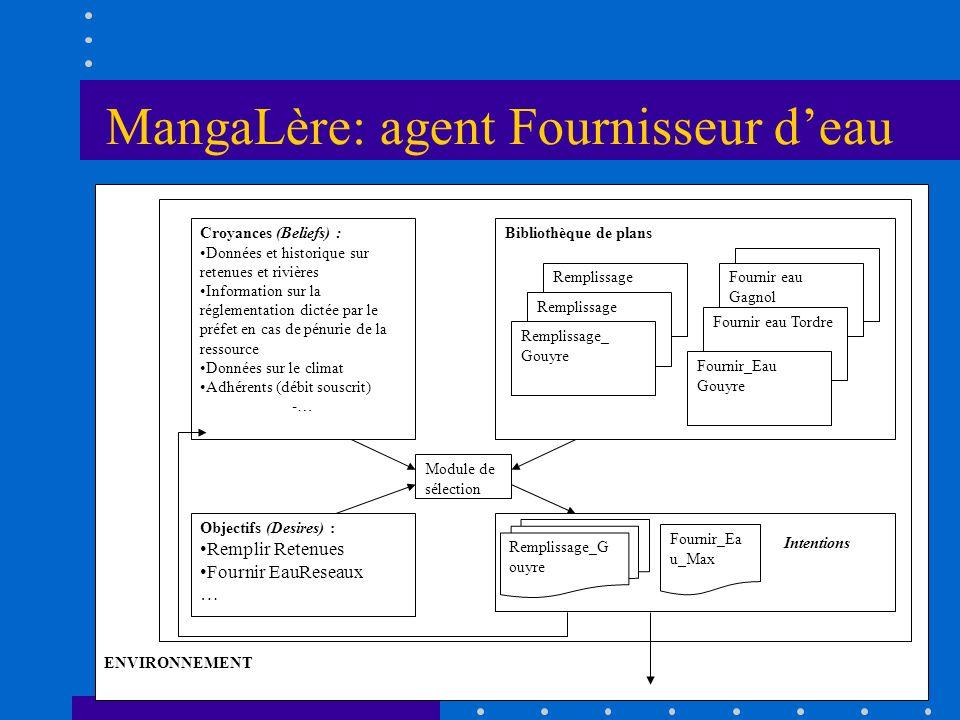 MangaLère: agent Fournisseur d'eau