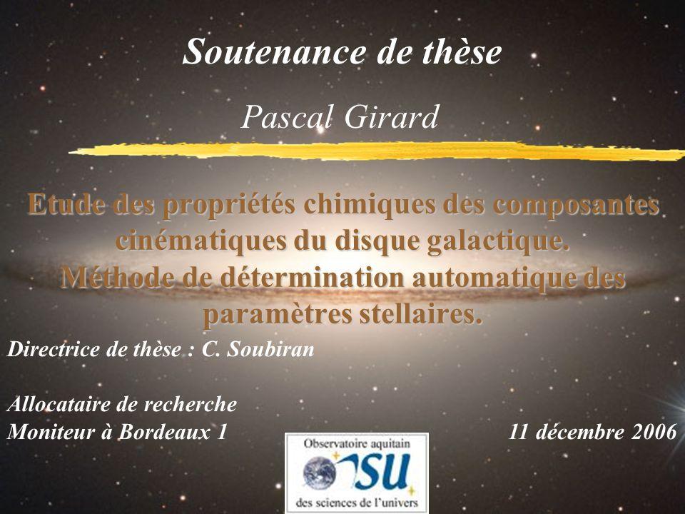 Soutenance de thèse Pascal Girard