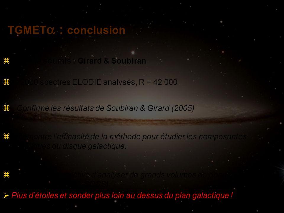 TGMETconclusion Article soumis : Girard & Soubiran