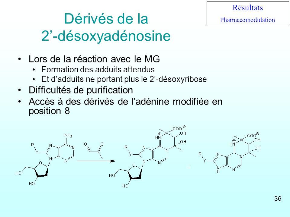 Dérivés de la 2'-désoxyadénosine