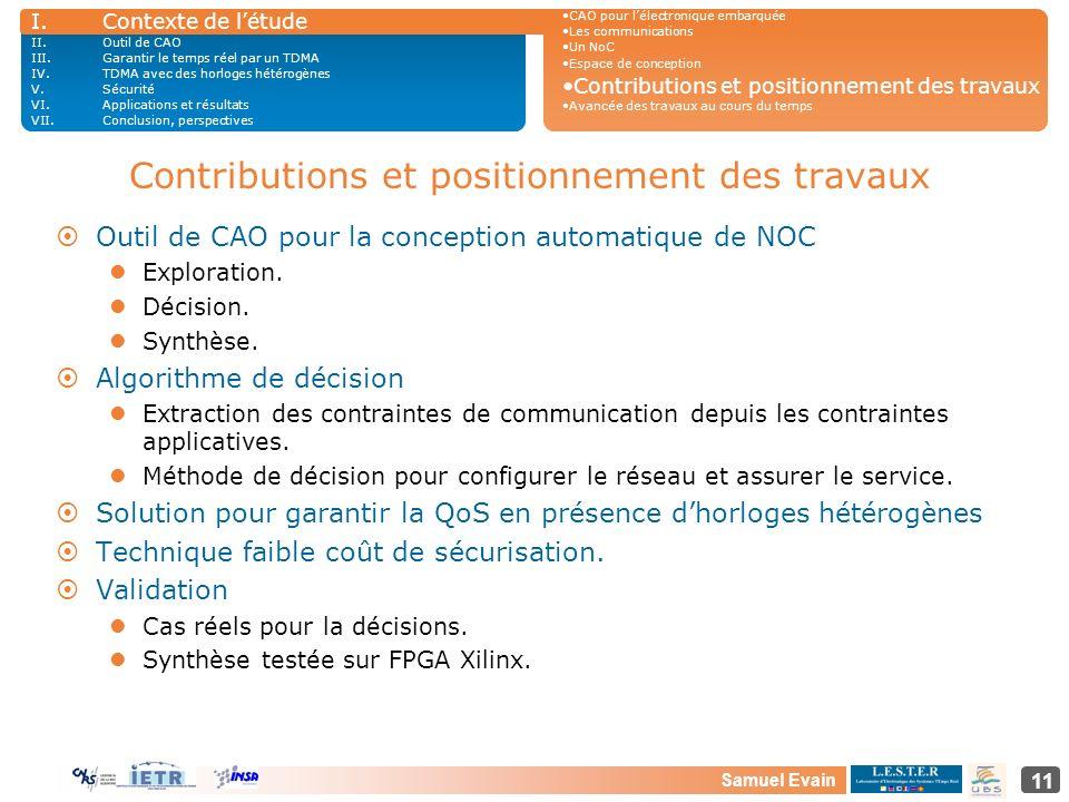 Contributions et positionnement des travaux