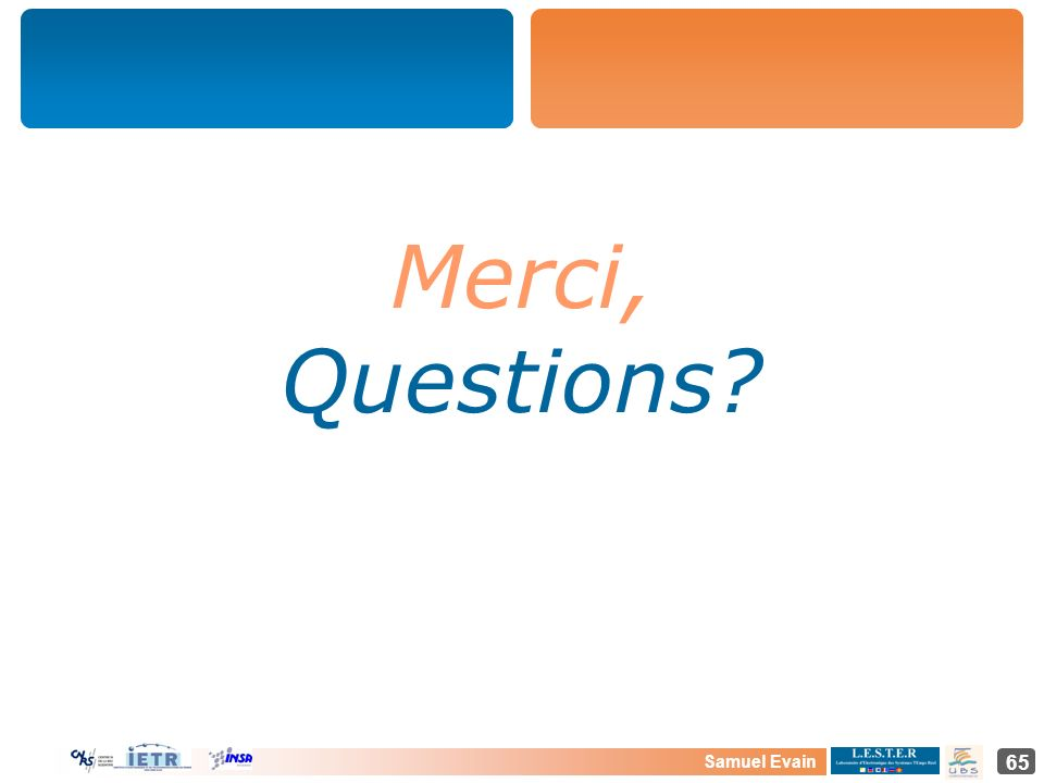 Merci, Questions