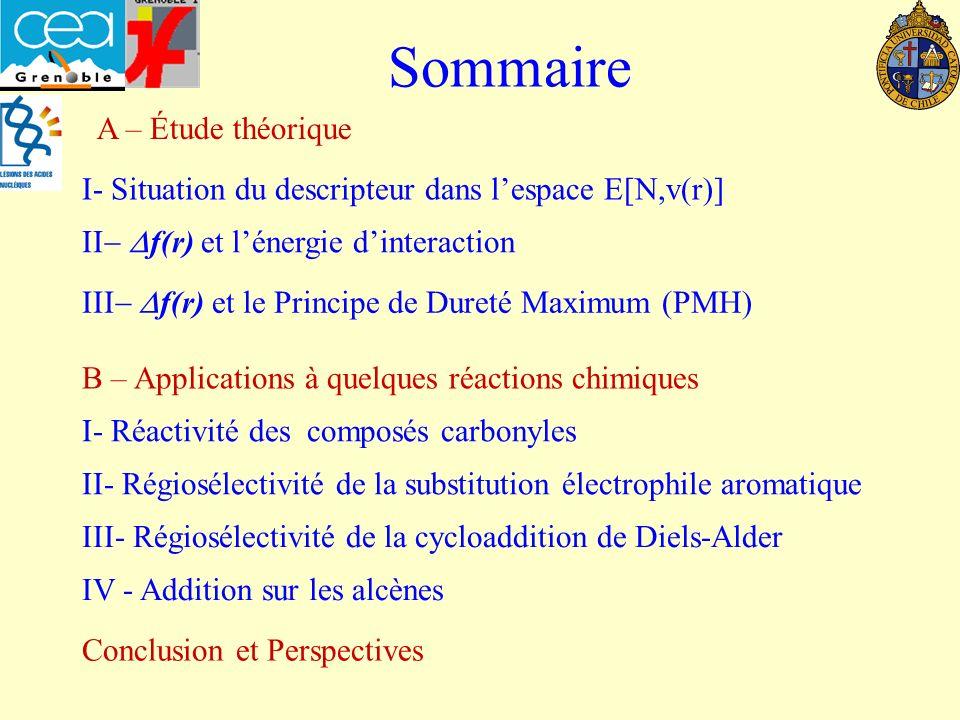 Sommaire A – Étude théorique
