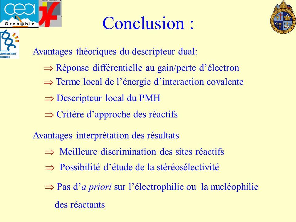 Conclusion : Avantages théoriques du descripteur dual: