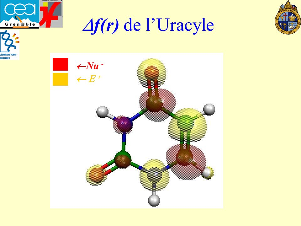 Df(r) de l'Uracyle Nu -  E +