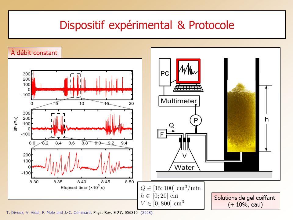 Dispositif expérimental & Protocole