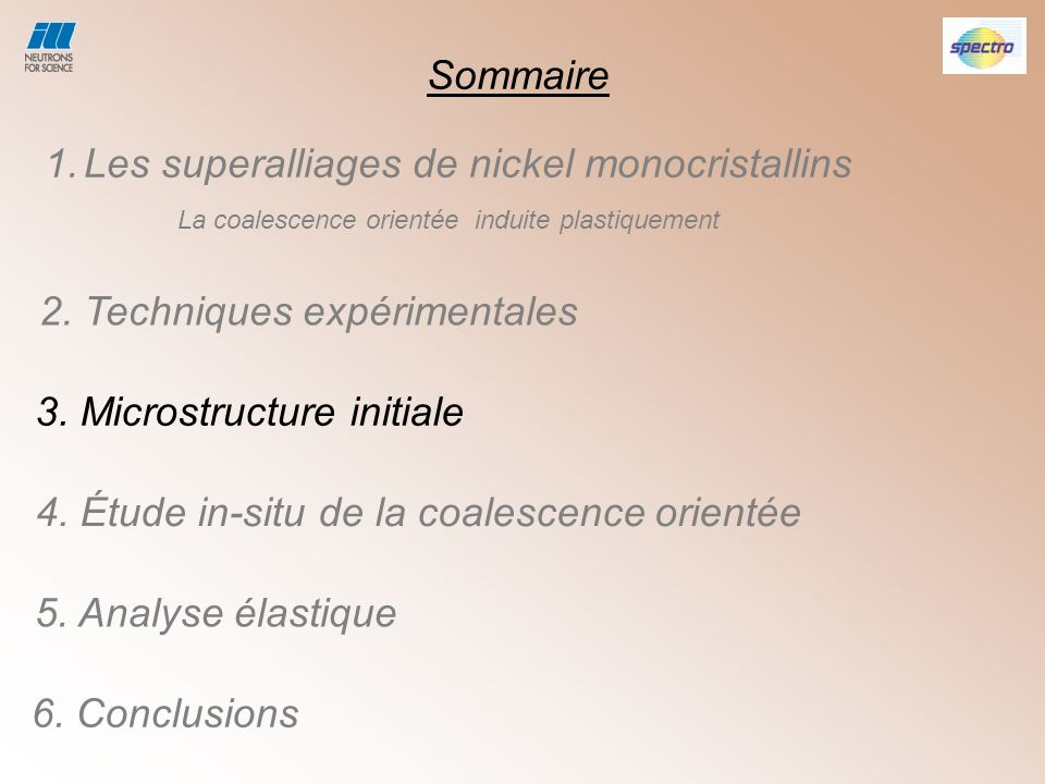 Les superalliages de nickel monocristallins