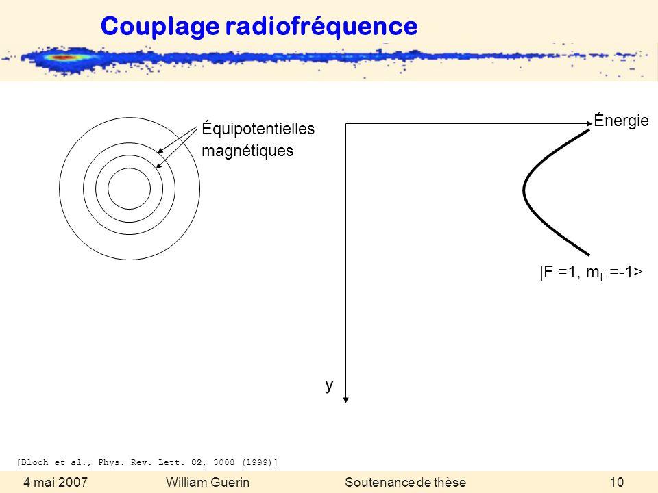 Couplage radiofréquence