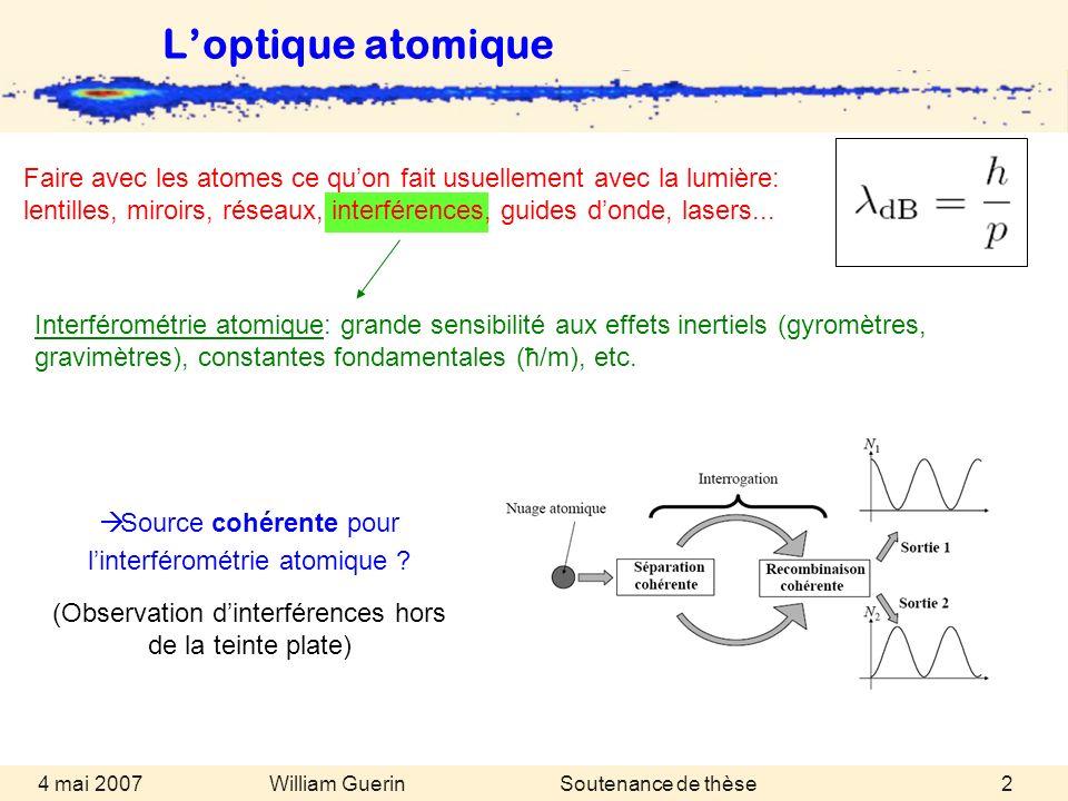 L'optique atomique
