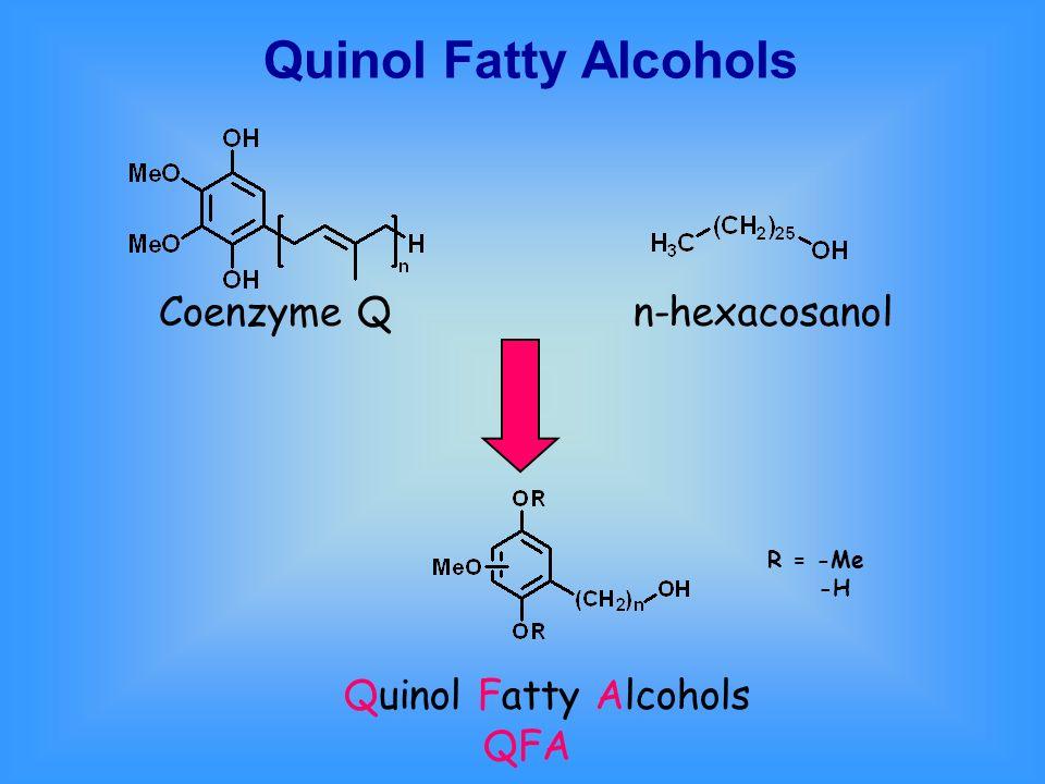 Quinol Fatty Alcohols Coenzyme Q n-hexacosanol Quinol Fatty Alcohols