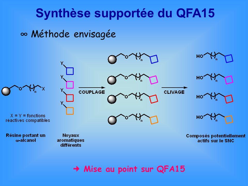 Synthèse supportée du QFA15