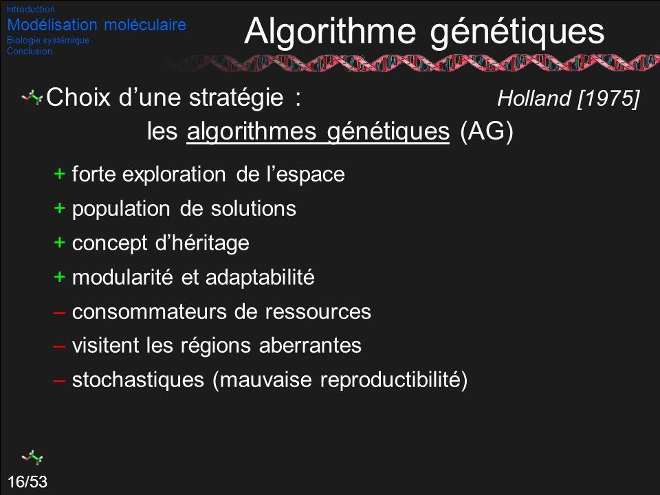 Algorithme génétiques