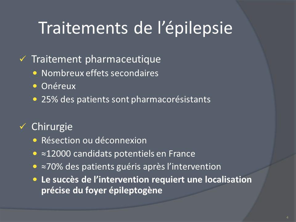 Traitements de l'épilepsie