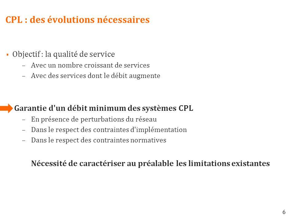 CPL : des évolutions nécessaires