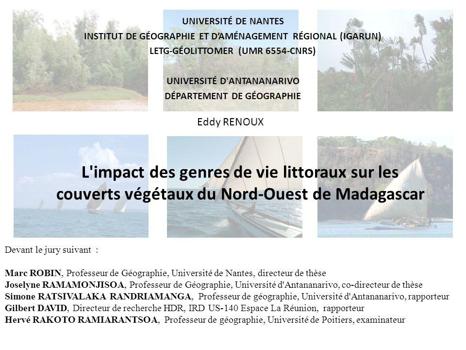 Université de Nantes Institut de géographie et d'aménagement régional (IGARUN) LETG-Géolittomer (UMR 6554-CNRS)