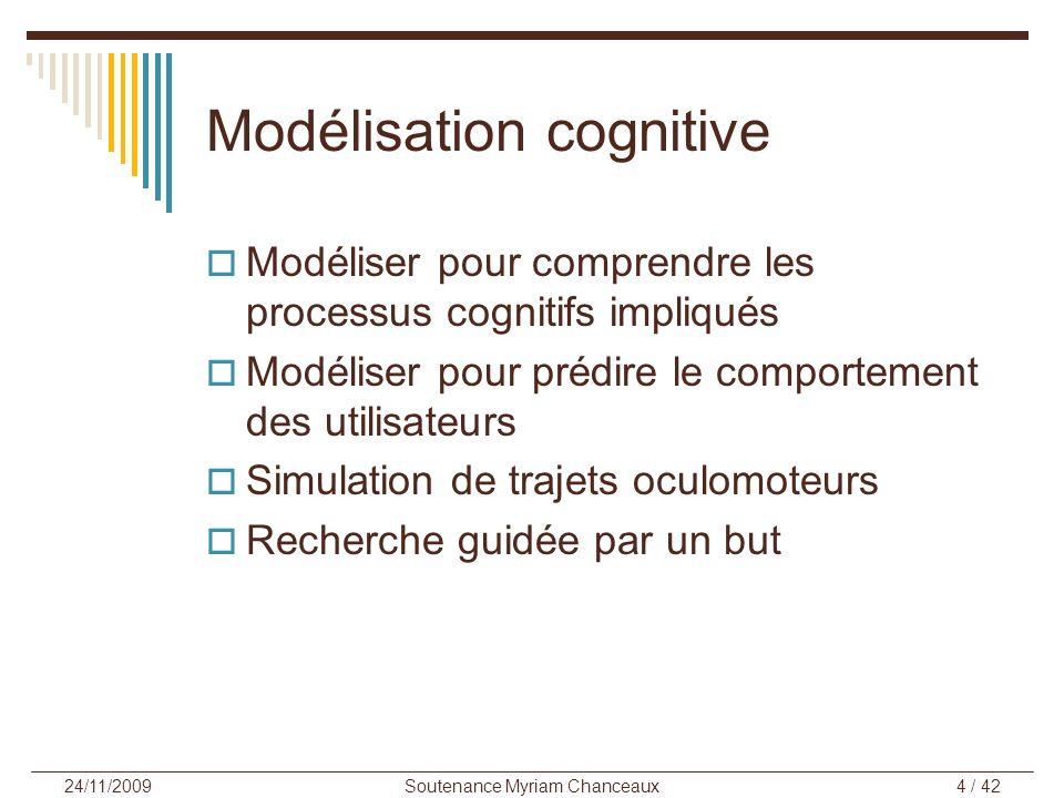 Modélisation cognitive