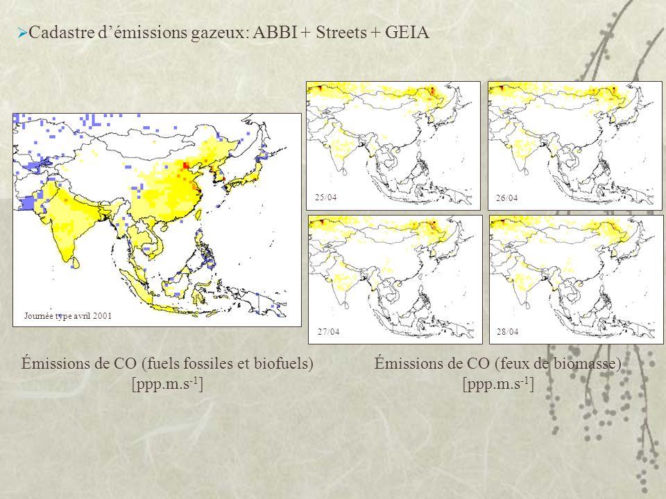 Cadastre d'émissions gazeux: ABBI + Streets + GEIA