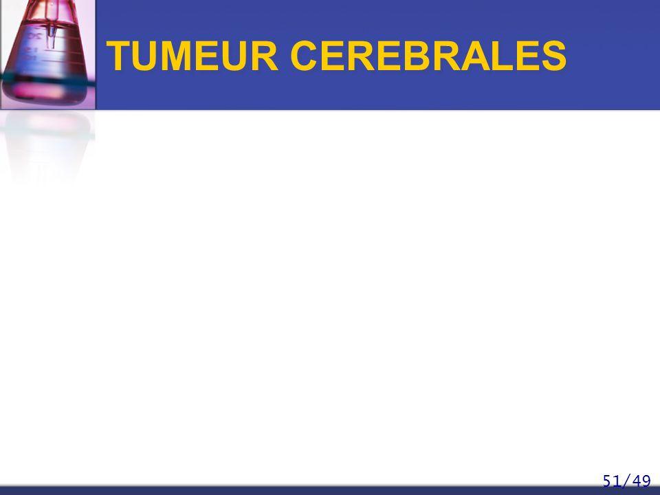TUMEUR CEREBRALES