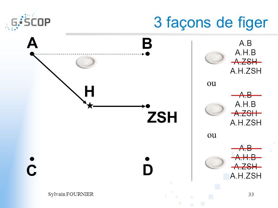 3 façons de figer A B H ZSH C D ou ou A.B A.H.B A.ZSH A.H.ZSH