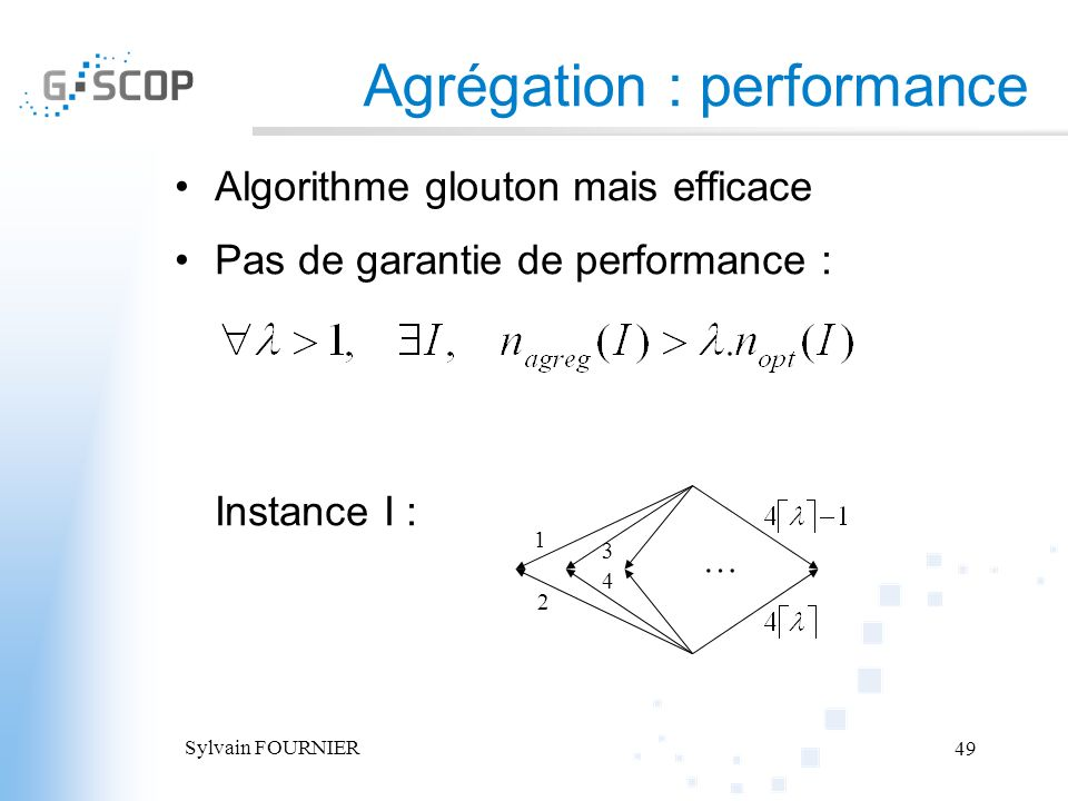 Agrégation : performance