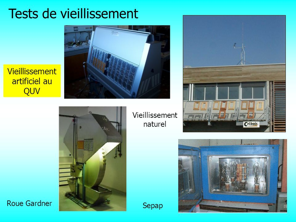 Tests de vieillissement