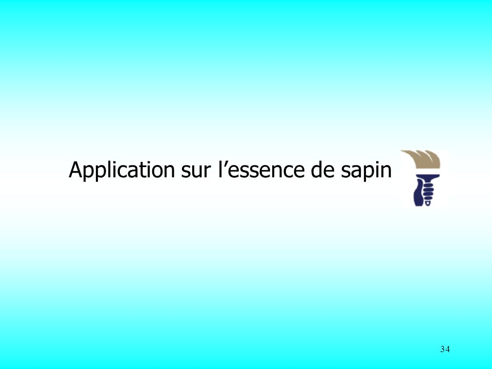 Application sur l'essence de sapin