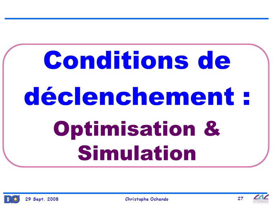 Optimisation & Simulation