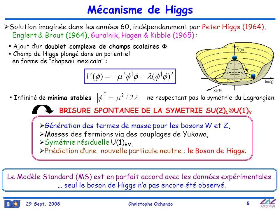 … seul le boson de Higgs n'a pas encore été observé.