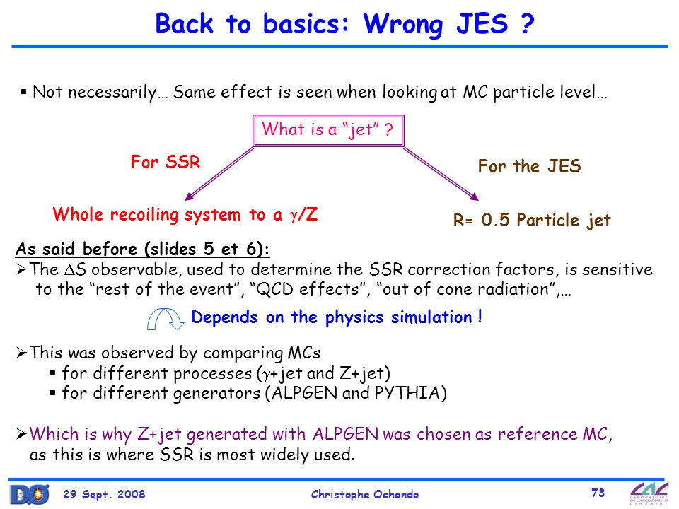 Back to basics: Wrong JES