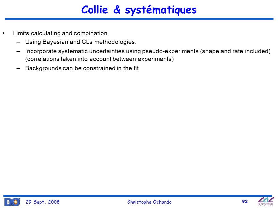 Collie & systématiques