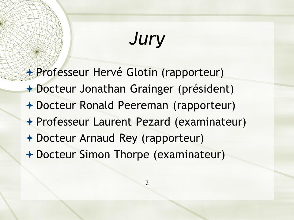 Jury Professeur Hervé Glotin (rapporteur)