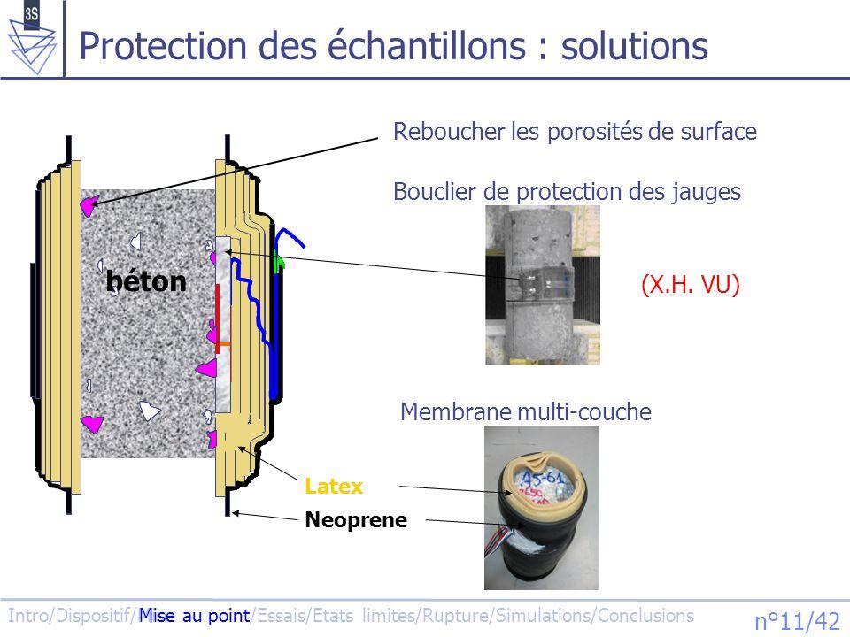 Protection des échantillons : solutions