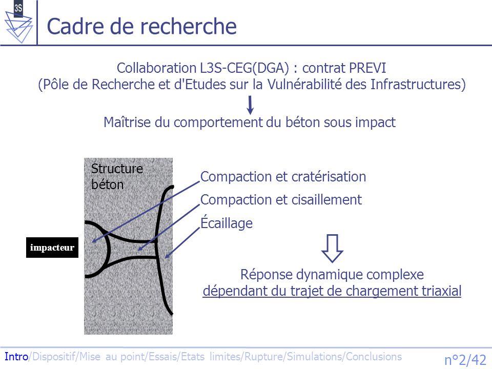 Cadre de recherche Collaboration L3S-CEG(DGA) : contrat PREVI (Pôle de Recherche et d Etudes sur la Vulnérabilité des Infrastructures)