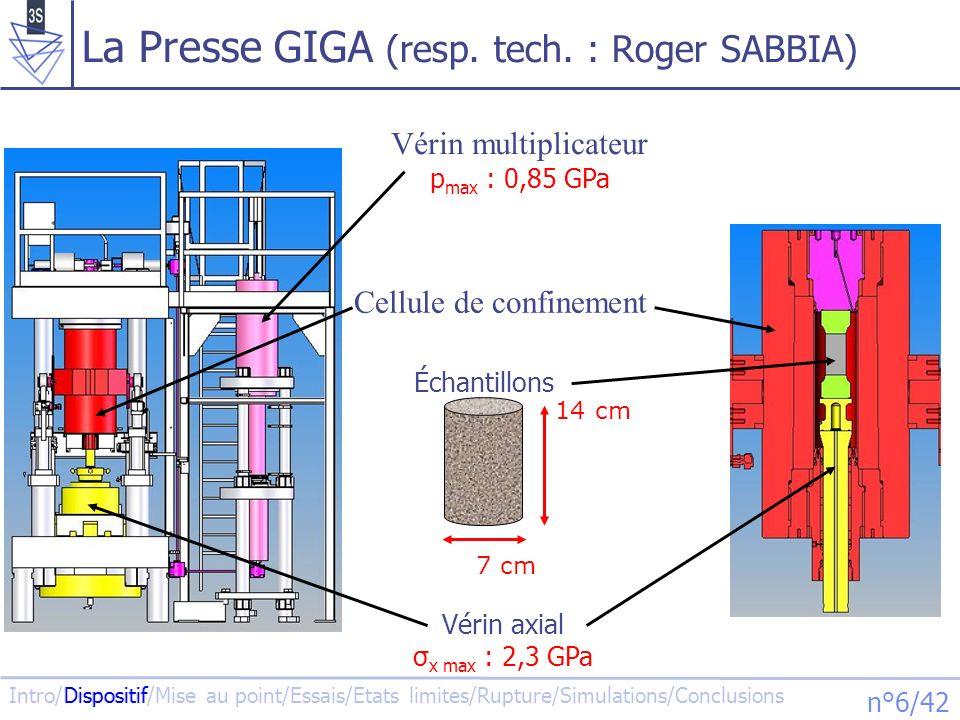 La Presse GIGA (resp. tech. : Roger SABBIA)