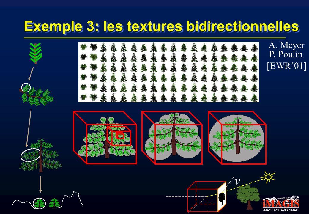 Exemple 3: les textures bidirectionnelles