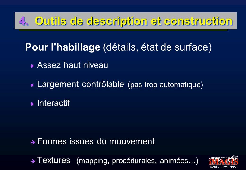 4. Outils de description et construction