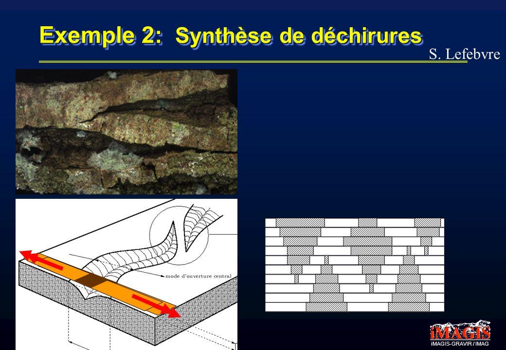 Exemple 2: Synthèse de déchirures